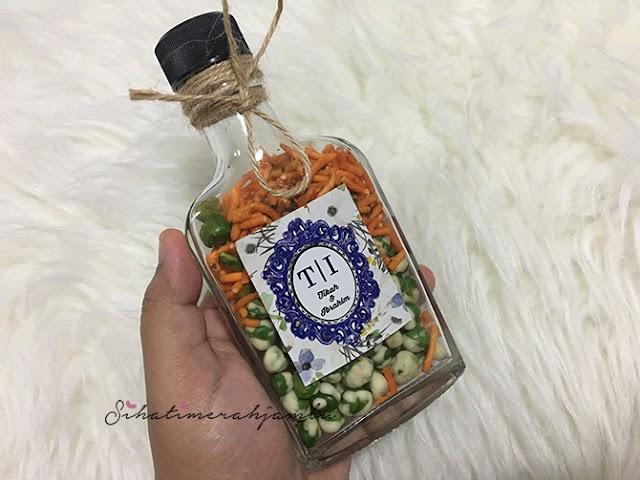 Door Gift Kekacang Dalam Botol