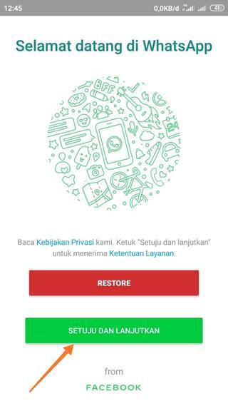 Cara Ubah WhatsApp Android