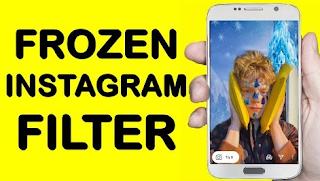 Frozen filter instagram || How to get frozen filters on Instagram