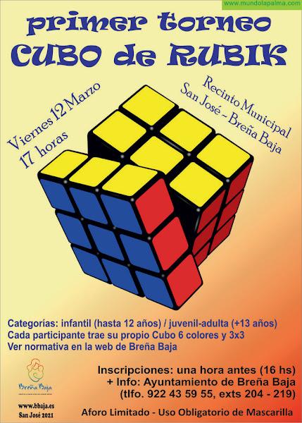 FIESTA DE SAN JOSÉ: primer torneo de Cubo de Rubik