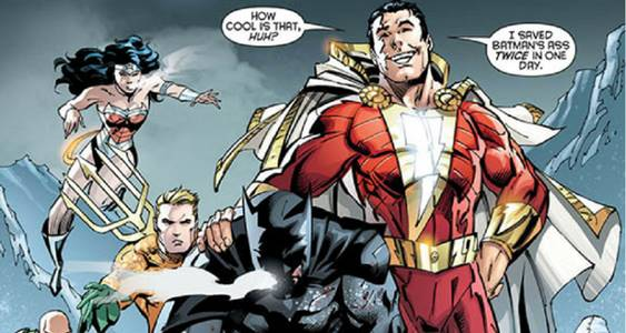 shazam anggota justice league, fakta captain marvel dc