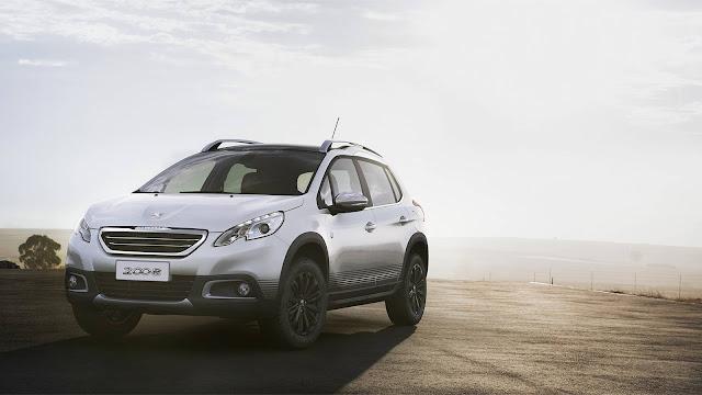 Peugeot 2008 2017 Crossway Automático  - Branco Nacré