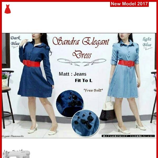 MSF0027 Model Sandra Elegant Murah Dress BMGShop