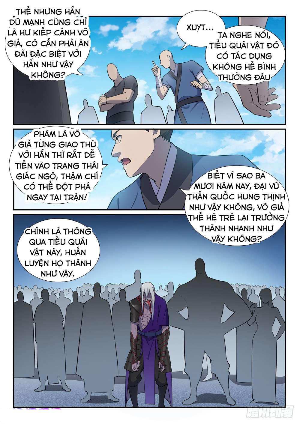 Bách Luyện Thành Thần Chapter 383 video - Hamtruyen.vn