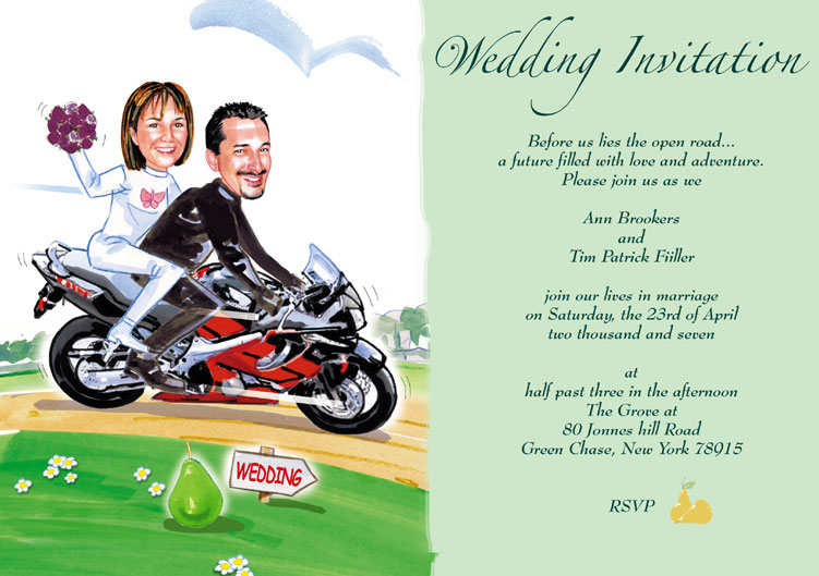 Funny Wedding Invite Poems: Funny Wedding Invitations