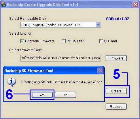 Rockchip Firmware tablet