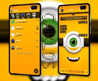 Minions Theme For YOWhatsApp & Fouad WhatsApp By  Carlos