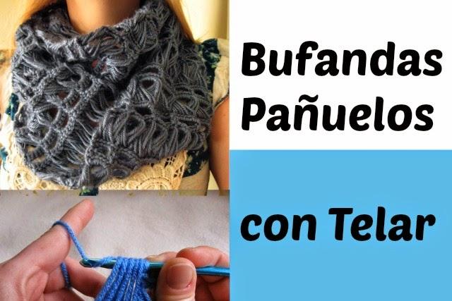Bufanda Arte y Belleza Crochet