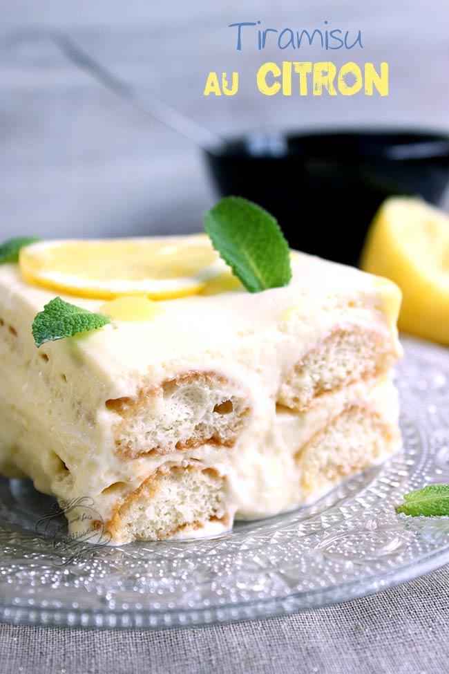 dessert citron