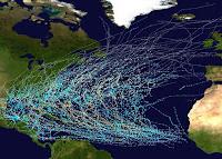 Áreas de formación de los ciclones