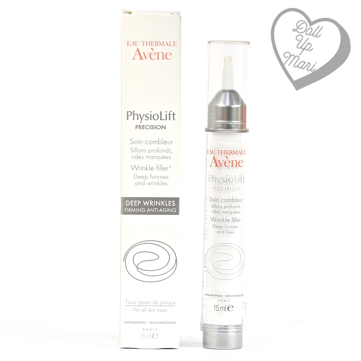 Pack shot of Avène PhysioLift Precision Wrinkle Filler