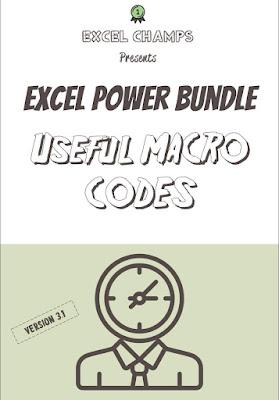 [Free PDF ebook]Top 100 Excel power bundle userful macro codes - update 2020