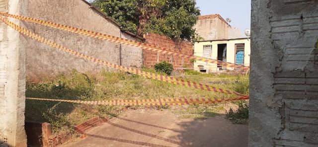 Em Dracena Filho provoca incêndio com a própria mãe dentro de residência e acaba preso em flagrante em