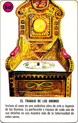 Baraja David el Gnomo Fournier Carta 05