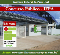 Apostila IFPA 2016, concurso Instituto Federal do Pará.