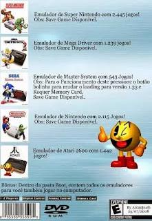 Imagem Super Nintendo Coleção Retro 7784 Jogos PS2 ISO