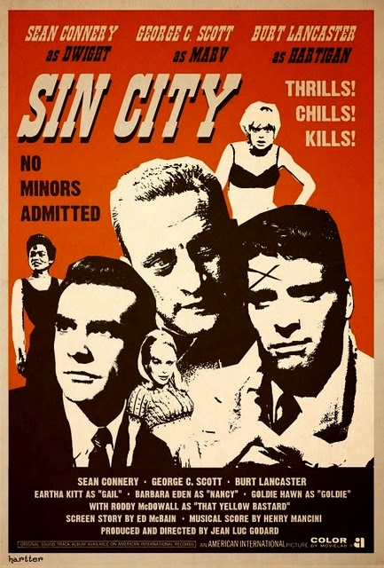 Lancaster, Scott, and Connery, in Sin City