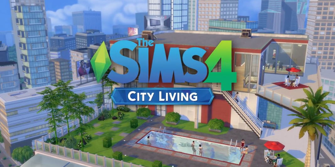 ea has released the city living expansion pack for sims 4