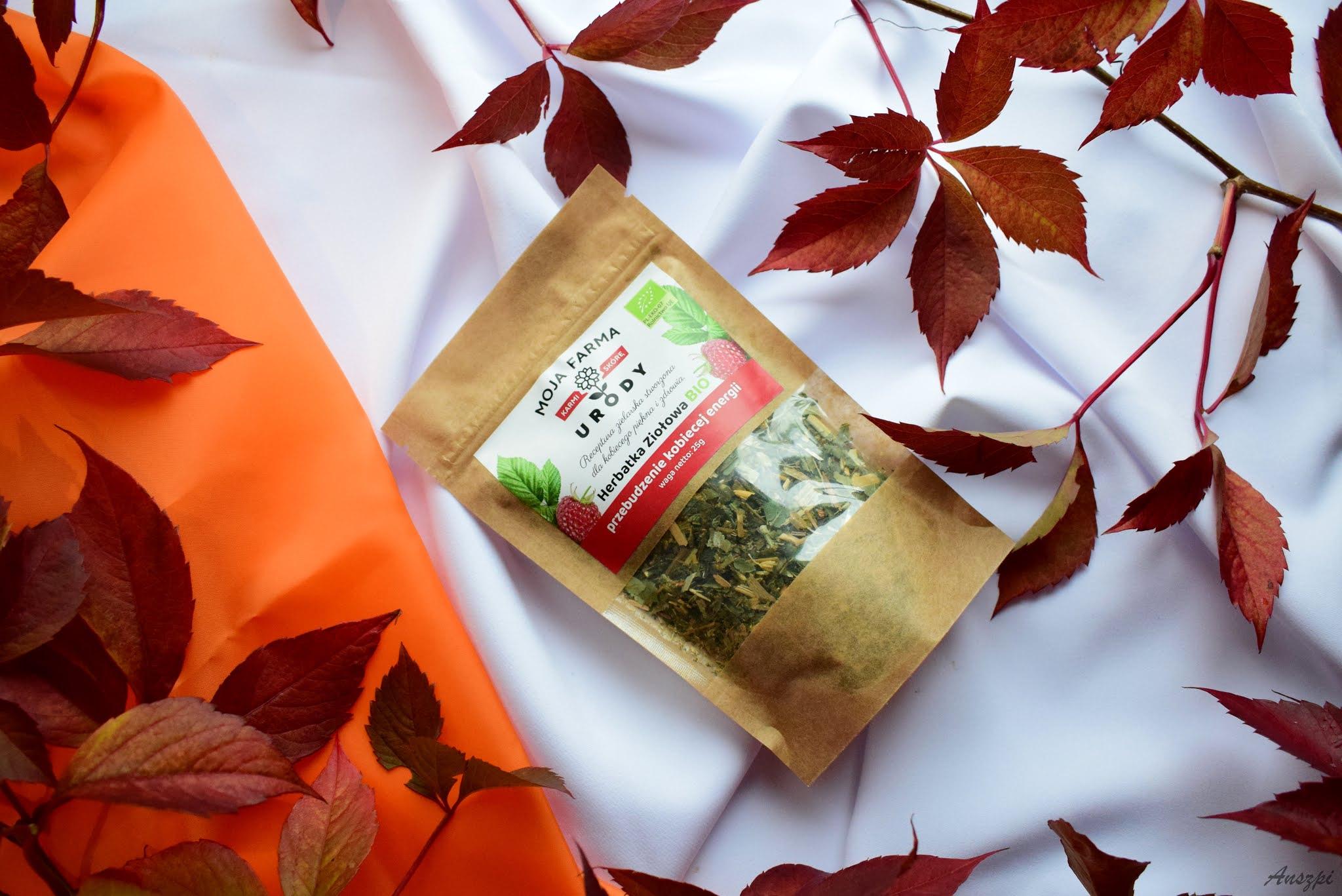 """Bio herbatka ziołowa """"przebudzenie kobiecej energii"""""""