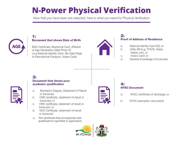 npower-physical-verification-items-required