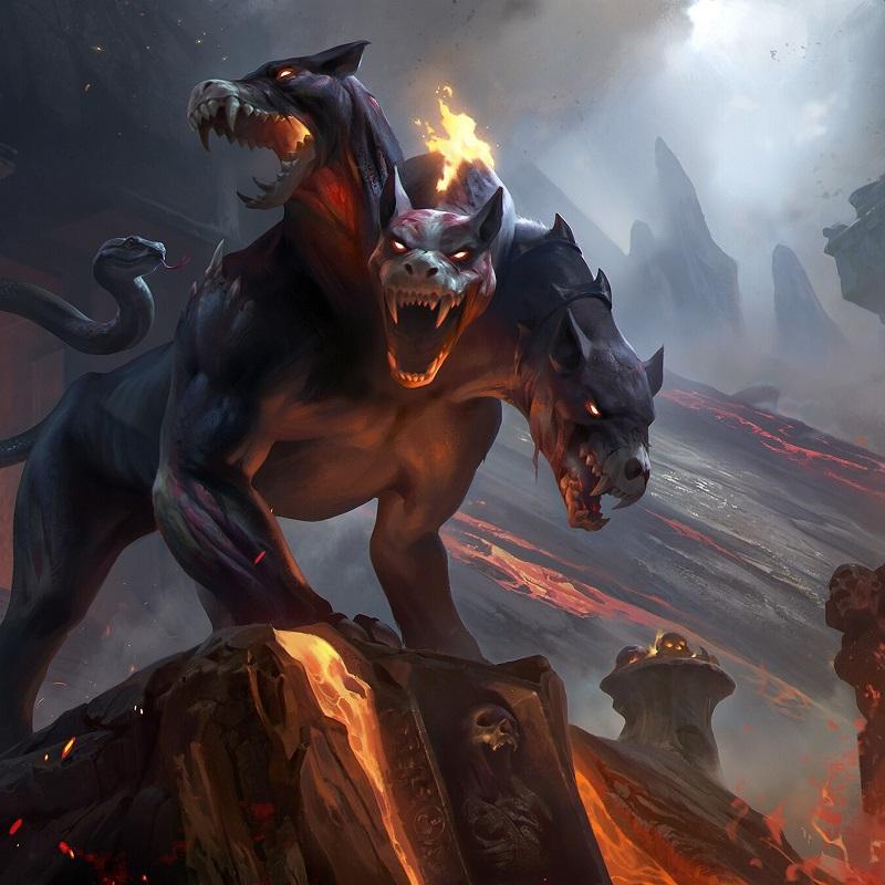 Cérbero: O Cão de Hades e Guardião do Submundo