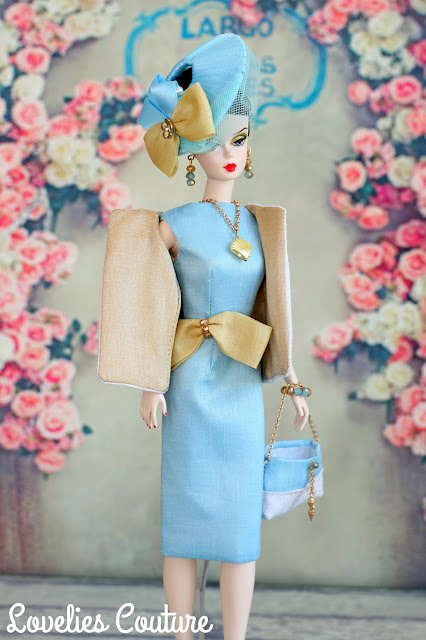 ooak silkstone barbie fashion couture