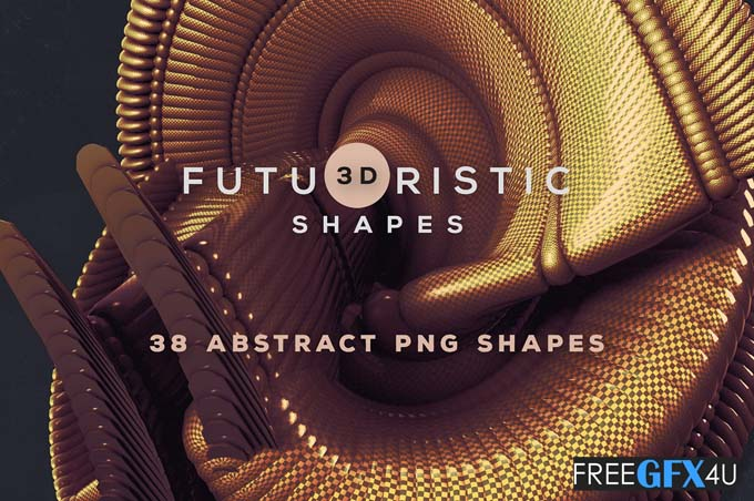 Abstract And Creative 3D Shapes