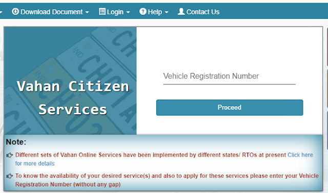 vehicle fitness certificate online check