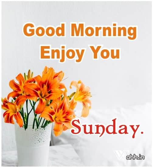 Good Morning Sunday  Best Images Photo