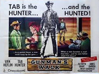 Gunman's Walk Film Poster - Phil Karlson,1958