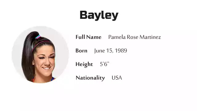 Bayley Biography History Net Worth And More