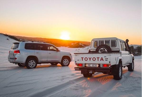 Toyota Land Cruiser Desain Belakang