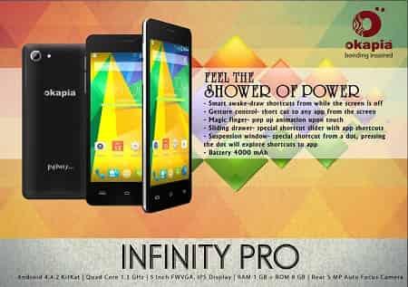 Okapia Infinity Pro Smartphone