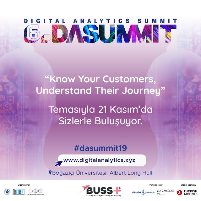 Dijital dünyanın sınırları tasarlanıyor; Boğaziçi Üniversitesi Digital Analytics Summit, 21 Kasım'da