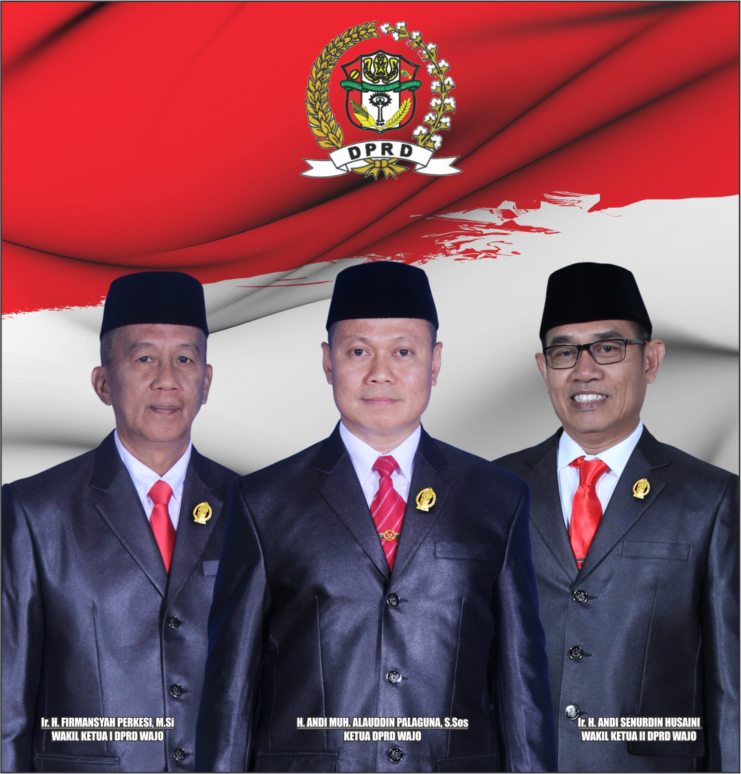 Tiga Pimpinan Definitif DPRD Wajo Bakal Dilantik Pekan Depan