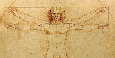 Λεονάρντο ντα Βίντσι: Στο Λούβρο «Ο άνθρωπος του Βιτρούβιου»