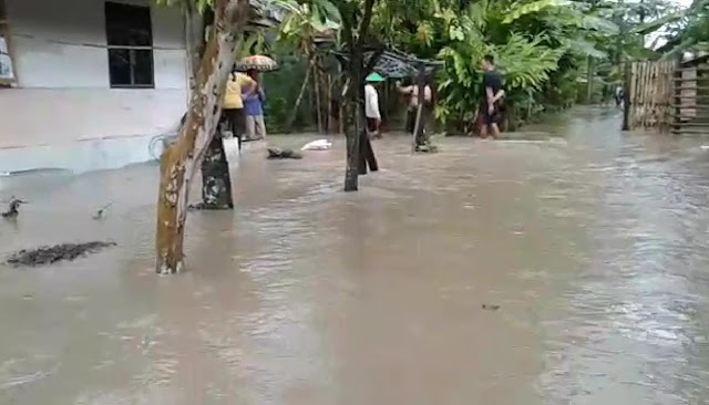 Banjir Terjang 2 Desa di Kecamatan Cibingbin
