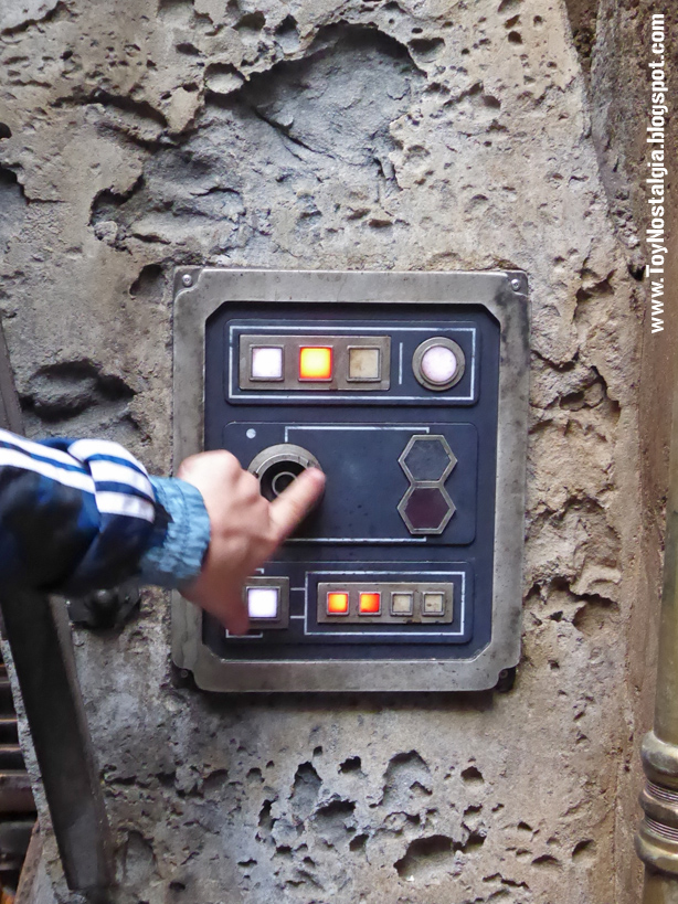 STAR WARS: Galaxy's Edge  interruptor puerta