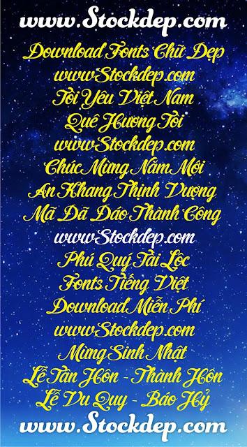 Download free Font UVF Cider Script Việt Hóa