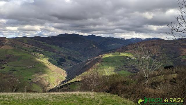 Valle del Naviego desde la Sierra de Pando