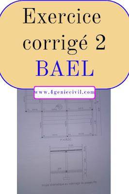 Exercice corrigé en BAEL  Construction en RDC