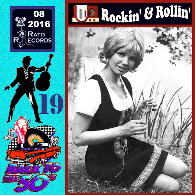 Cd collection Back To The 50's - Rockin' & Rollin' 19 Front