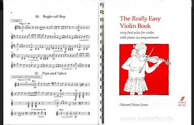 Really Easy Violin Book - Violin Part |تحميل كتاب تعلم الة الكمان