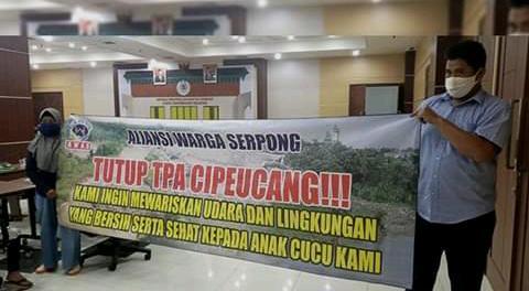 Pemkot Tangsel diminta Tutup TPA Cipeucang Serpong