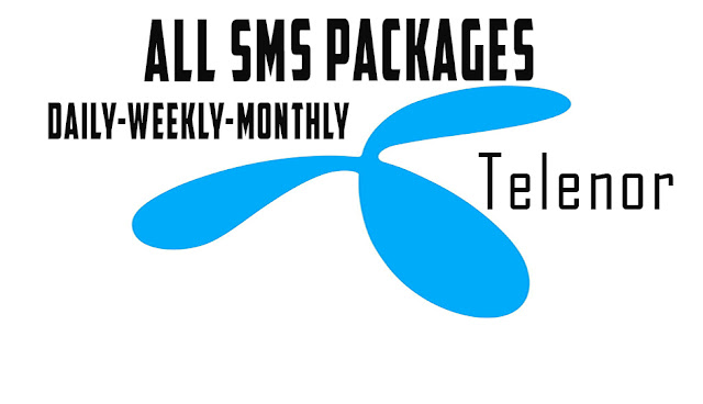 Telonor sms bundles daily weekly and monthly