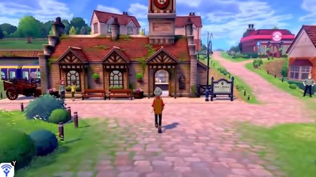 Pokémon Sword/Shield (Switch) recebe vídeo de tour pela cidade inicial