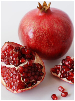Pomegranate super fruit