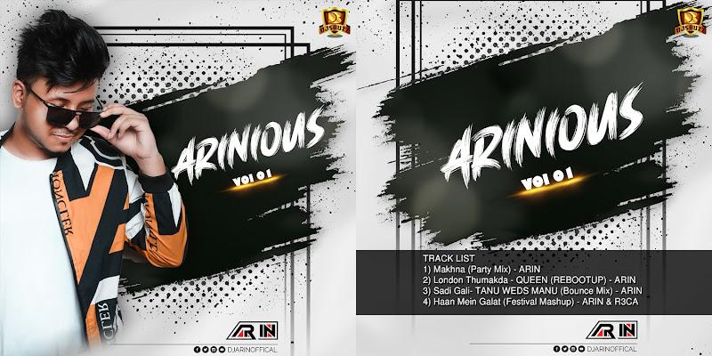 Arinious Vol.1 – DJ Arin