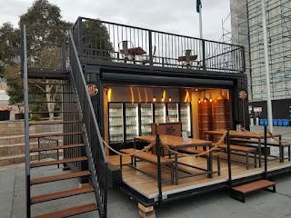 Mini cafe outdoor sederhana