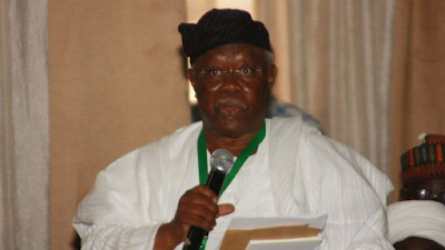 PDP Chieftain, Bode George, Condemns Calls For Buhari's Resignation